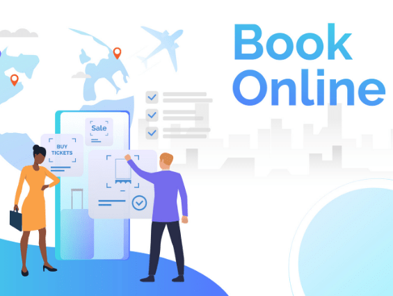 Corporate booking tool